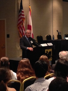 Amb. William Hughes (D-NJ) discusses civil rights legislation