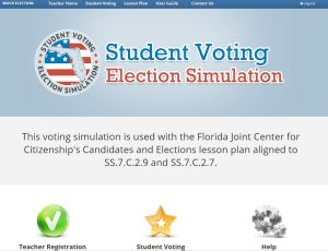 Screen capture from http://electionsimulation.floridacitizen.org/