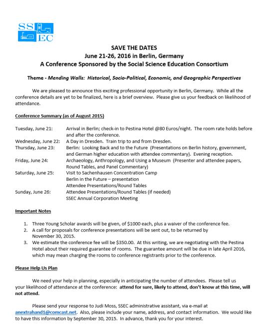 social science Education consortium