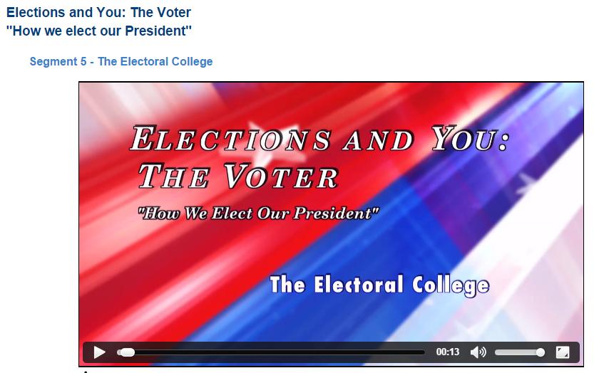 electorla college