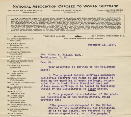 womens suffrage lesson