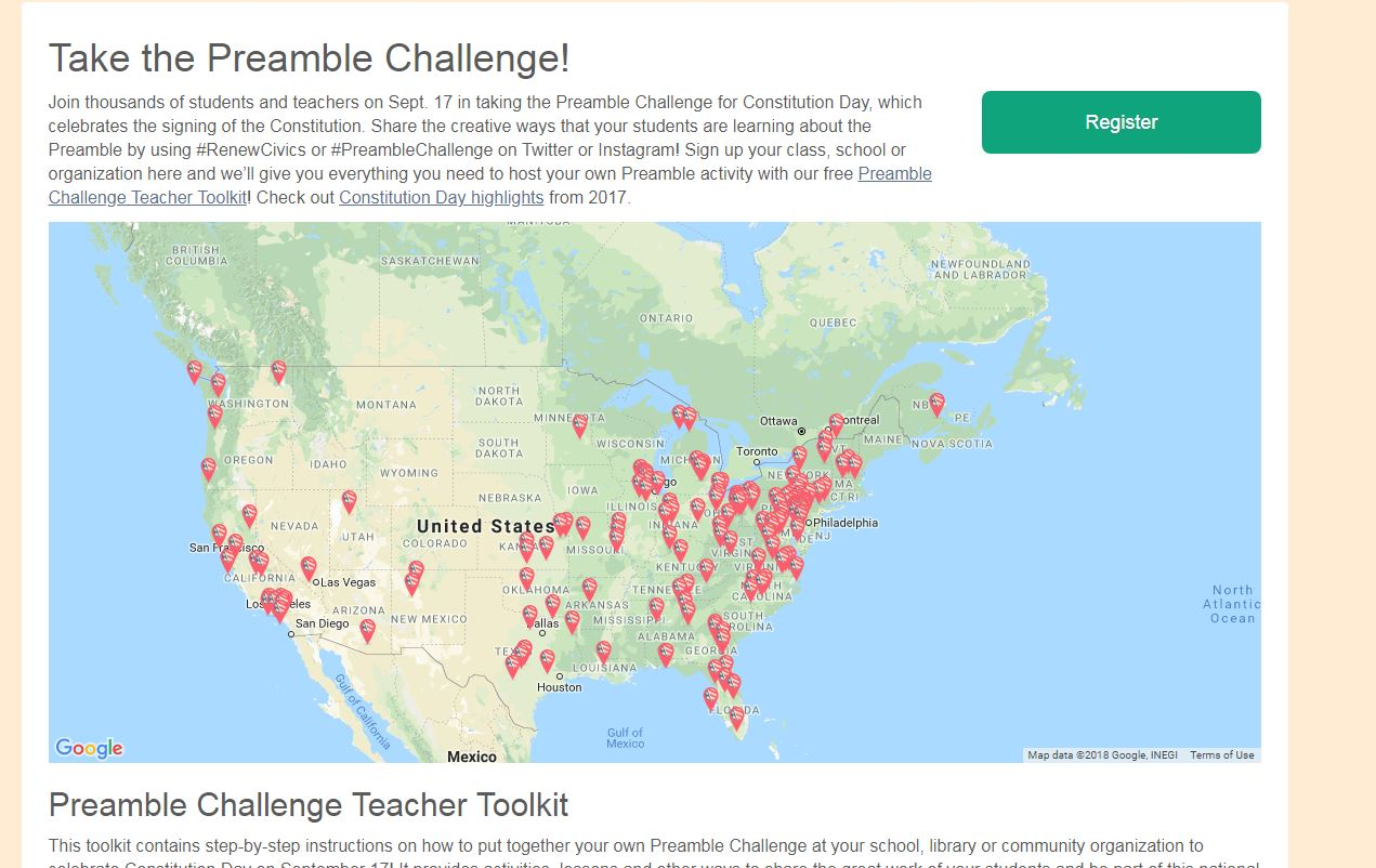 Preamble Challenge