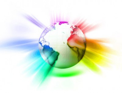 Globe-with-Rainbow-Colors-