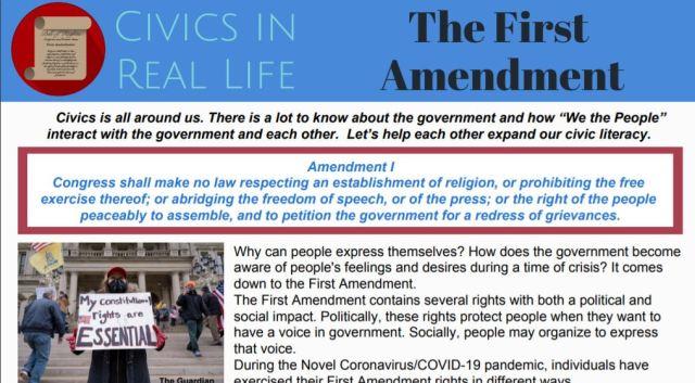 Civics in Real Life: The First Amendment | Florida Civics