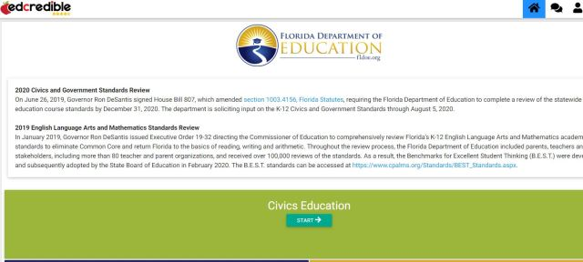 PLEASE Contribute to the Florida K-12 Civics Standards Review   Florida Civics