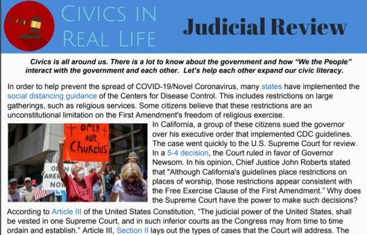 judicial review crl